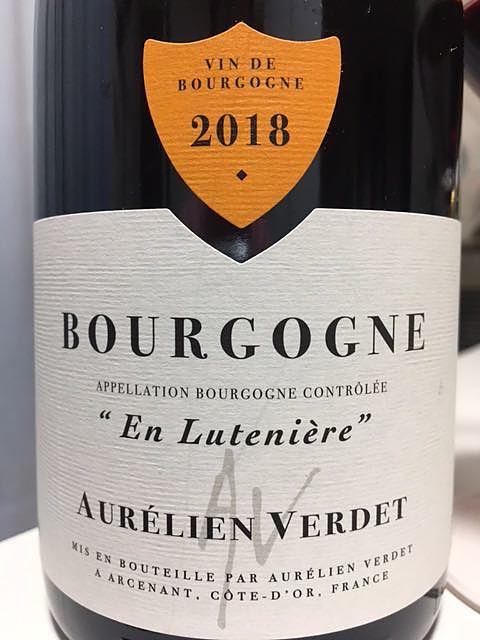 Aurélien Verdet Bourgogne En Lutenière