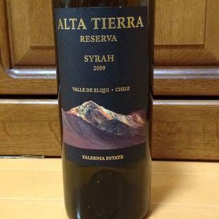 Alta Tierra Syrah Reserva