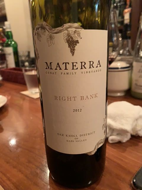 Materra Right Bank 2012(マテッラ ライト・バンク)