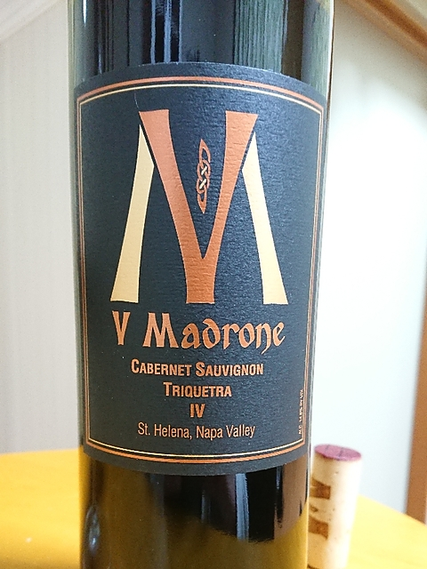 V Madrone Cabernet Sauvignon Triquetra(V・マドロン カベルネ・ソーヴィニヨン トリクエトラ)