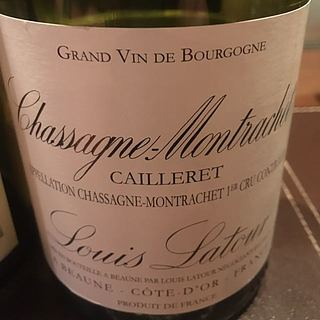 Louis Latour Chassagne Montrachet 1er Cru Cailleret(ルイ・ラトゥール シャサーニュ・モンラッシェ プルミエ・クリュ カイユレ)