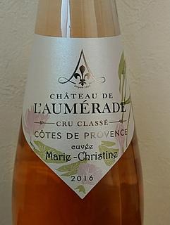 Ch. de l'Aumérade Cuvée Marie Christine