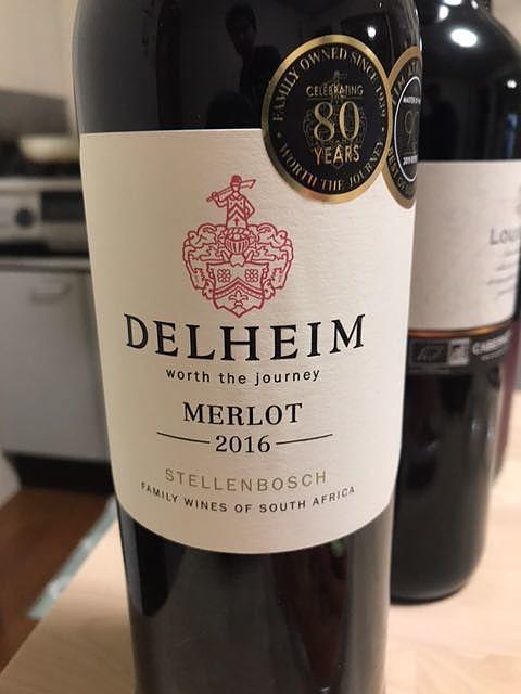 Delheim Merlot