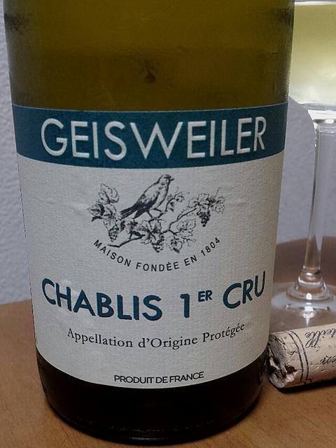 Geisweiler Chablis 1er Cru(ゲスバイラー シャブリ プルミエ・クリュ)