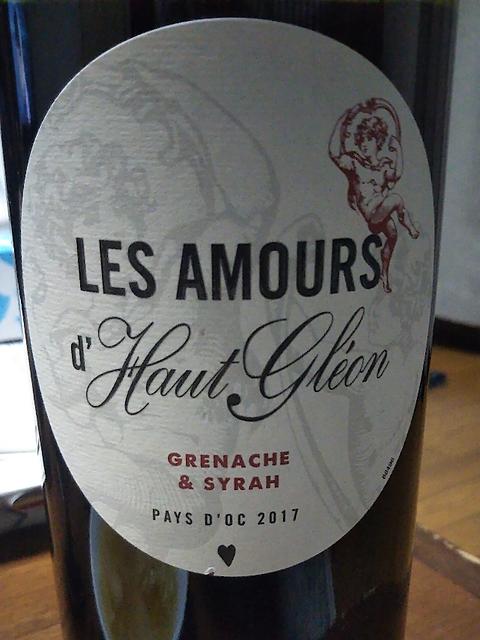 Les Amours d'Haut Gléon Grenache & Syrah