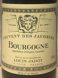 Louis Jadot Bourgogne Couvent des Jacobins Rouge