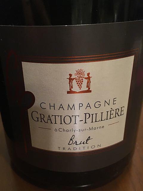 Gratiot Pilliere Brut Tradition(グラティオ・ピリエール ブリュット トラディション)