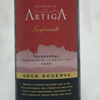 Dominio de Artiga Reserva Tempranillo