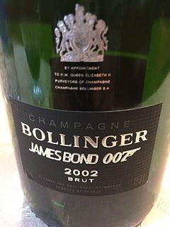 Bollinger James Bond 007 Limited Edition 2002(ボランジェ ジェームス・ボンド 007 リミテッド・エディション)