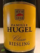 ヒューゲル リースリング(2015)