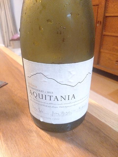 Aquitania Chardonnay Reserva
