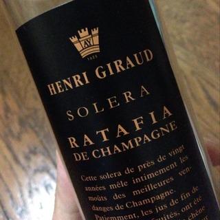 Henri Giraud Solera Ratafia de Champagne