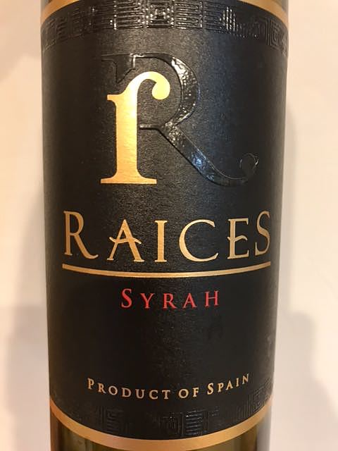 Raices Syrah Reserva