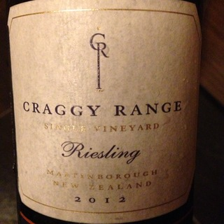 Craggy Range Te Muna Road Vineyard Riesling