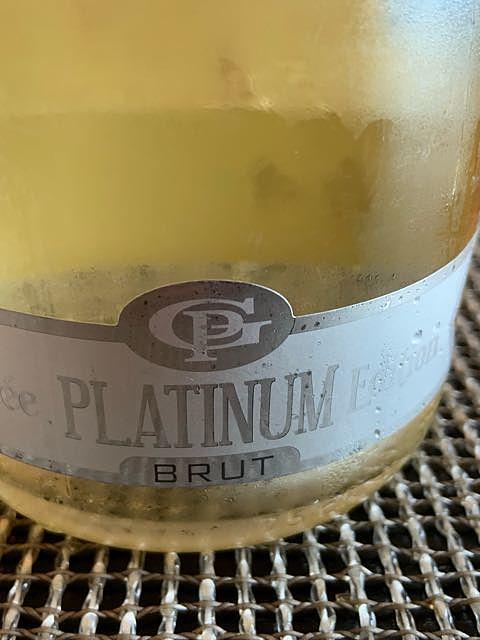 Pietro Gazzola Cuvée Platinum Edition Brut(ピエトロ・ガッツォーラ キュヴェ・プラチナ・エディション ブリュット)
