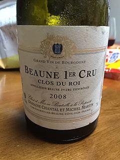 Dom. Chantal et Michel Martin Beaune 1er Cru Clos du Roi(ドメーヌ・シャンタル・エ・ミシェル・マルタン ボーヌ プルミエ・クリュ クロ・デュ・ロワ)