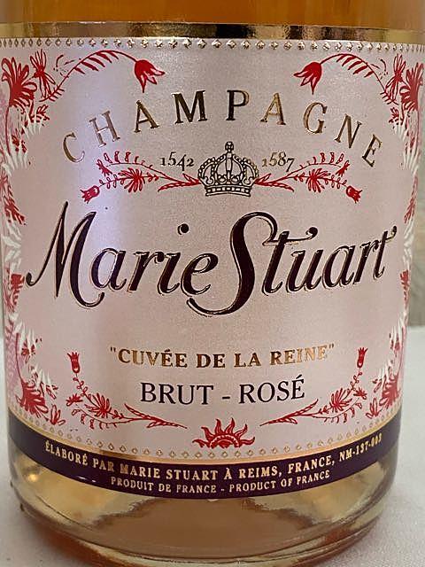 Marie Stuart Cuvée de la Reine Brut Rosé(メアリー・ステュアート キュヴェ・ド・ラ・レーヌ ブリュット ロゼ)