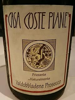 Casa Coste Piane Valdobbiadene Prosecco Frizzante Naturalmente(カーサ・コステ・ピアーネ ヴァルドッビアーデネ プロセッコ フリッツァンテ ナチュラルメンテ)