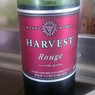 Manns Wines Harvest Rouge