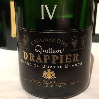 Drappier Champagne Brut Blanc de Quatre Blancs Cuvée Quattuor