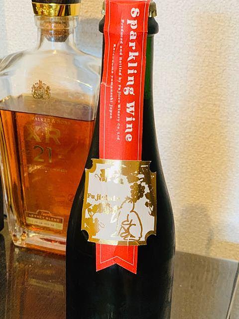 フジッコワイナリー Fujiclair Sparkling Wine 濁りルージュ