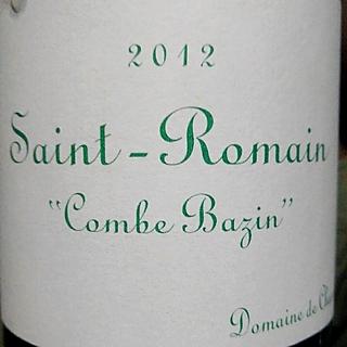 Dom. de Chassorney Saint Romain Combe Bazin
