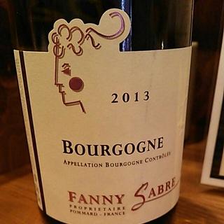 Fanny Sabre Bourgogne Rouge