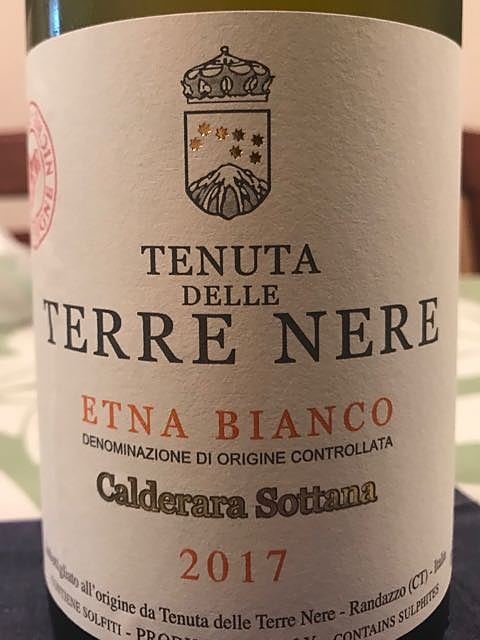 Tenuta delle Terre Nere Etna Bianco Calderara Sottana(テヌータ・デッレ・テッレ・ネーレ エトナ・ビアンコ カルデラーラ・ソッターナ)
