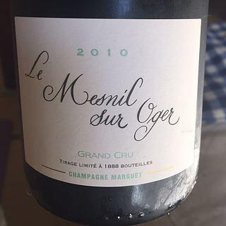 Champagne Marguet Le Mesnil Sur Oger Grand Cru