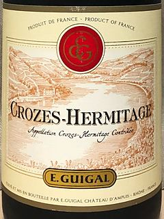 E.Guigal Crozes Hermitage Rouge
