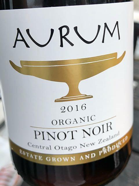 Aurum Organic Pinot Noir(オーラム オーガニック ピノ・ノワール)