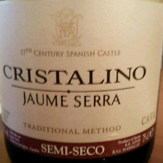 Jaume Serra Cristalino Semi Seco