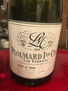 Lucien Le Moine Pommard 1er Cru Les Grands Epenots