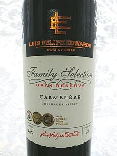 Luis Felipe Edwards Family Selection Gran Reserva Carmenère