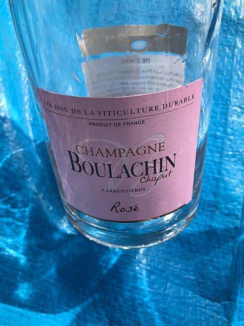 Boulachin Chaput Brut Rosé(ブラシャン・シャピュ ブリュット ロゼ)