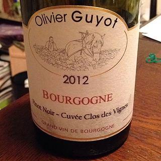 Olivier Guyot Bourgogne Pinot Noir Cuvee Clos des Vignes