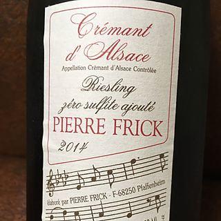 Pierre Frick Crémant d'Alsace Riesling Zéro Sulfite ajouté