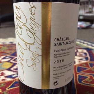 Ch. Saint Jacques Bordeaux Supérieur