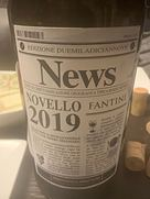 ファンティーニ ノヴェッロ ニュース(2019)