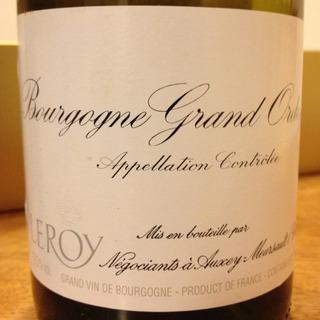 Maison Leroy Bourgogne Grand Ordinaire Blanc
