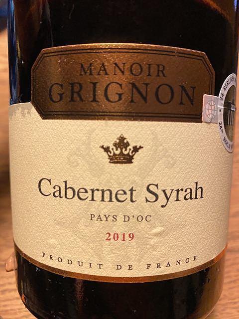 Manoir Grignon Cabernet Syrah