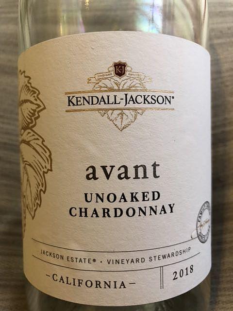 Kendall Jackson Avant Unoaked Chardonnay(ケンダル・ジャクソン アヴァント アンオークド・シャルドネ)