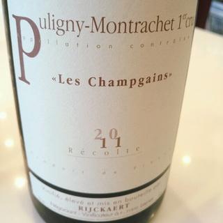 Jean Rijckaert Puligny Montrachet 1er Cru Les Champgains
