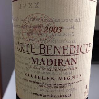 Arte Benedicte Madiran Vieilles Vignes