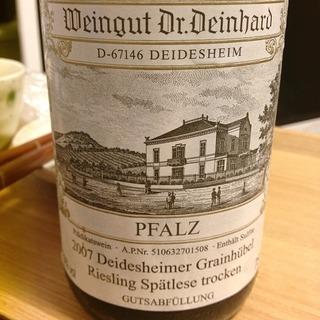 Dr. Deinhard Deidesheimer Grainhübel Riesling Spatlese troken