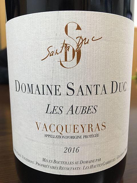 Dom. Santa Duc Vacqueyras Les Aubes