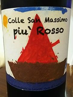 Colle San Massimo Piu' Rosso(コッレ・サン・マッシモ ピウ・ロッソ)