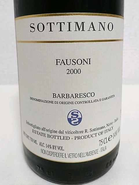 Sottimano Barbaresco Fausoni