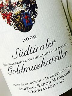 Baron Widmann Goldmuskateller(バロン・ウィッドマン ゴールドムスカテラー)