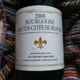 Cellier des Ursulines Bourgogne Hautes Côtes de Beaune Rouge
